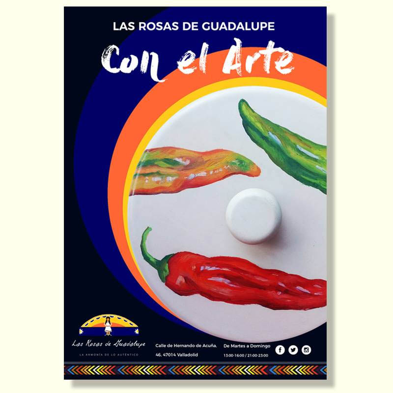 Las Rosas de Guadalupe Con EL Arte – Muestra Artística